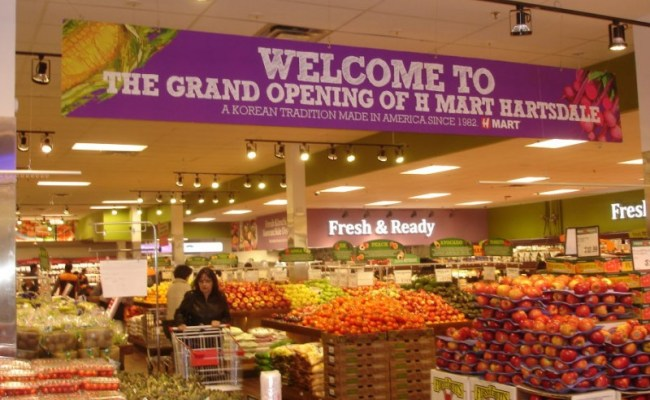 H Mart An Asian American Supermarket Attracts Big Crowds