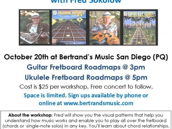 Guitar and Ukulele Workshop with Fred Sokolow | Patch