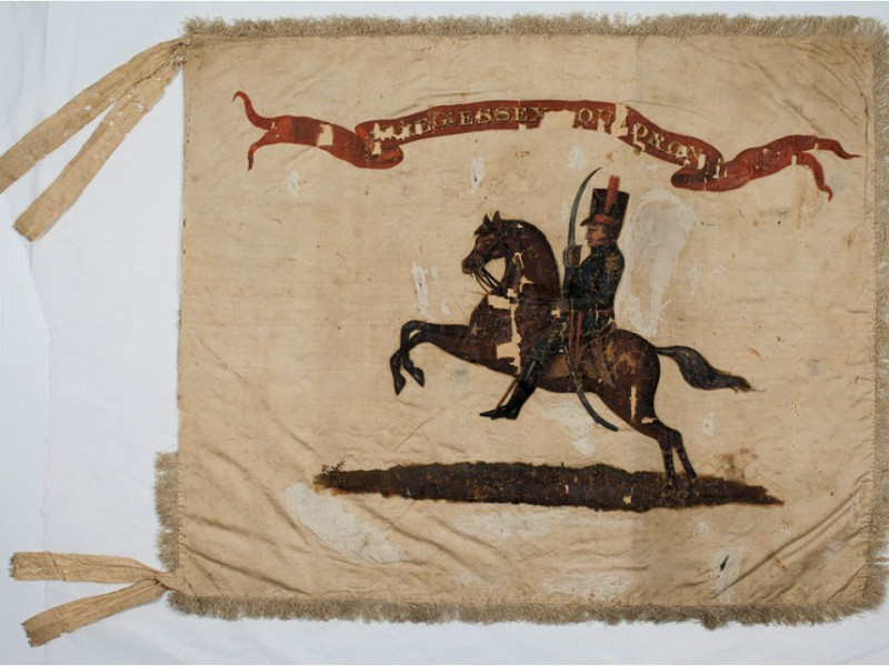 War of 1812 Flag on View This Memorial Day  Montclair NJ