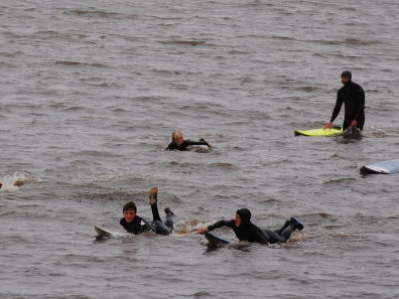 Family, Surfers Gather for Sion Milosky Paddle Out