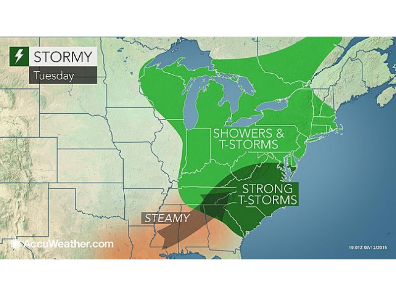Stormy Weather Possible This Week in Patchogue