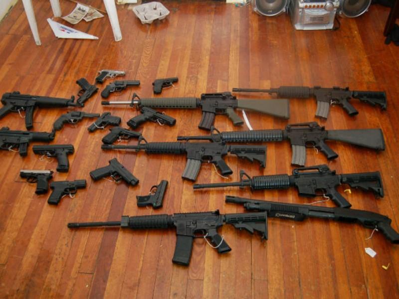Cops Snag Large Weapons Cache  Newark NJ Patch
