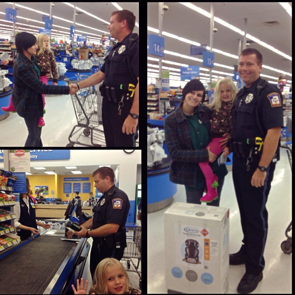 Cop's Good Deed Circles the Globe