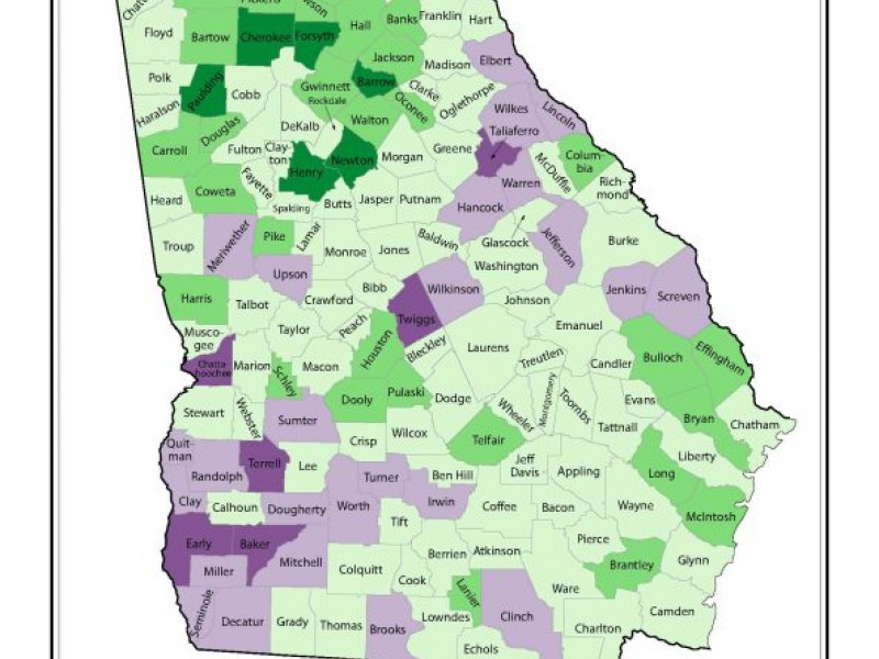 Forsyth The Fastest Growing County In Georgia  Cumming
