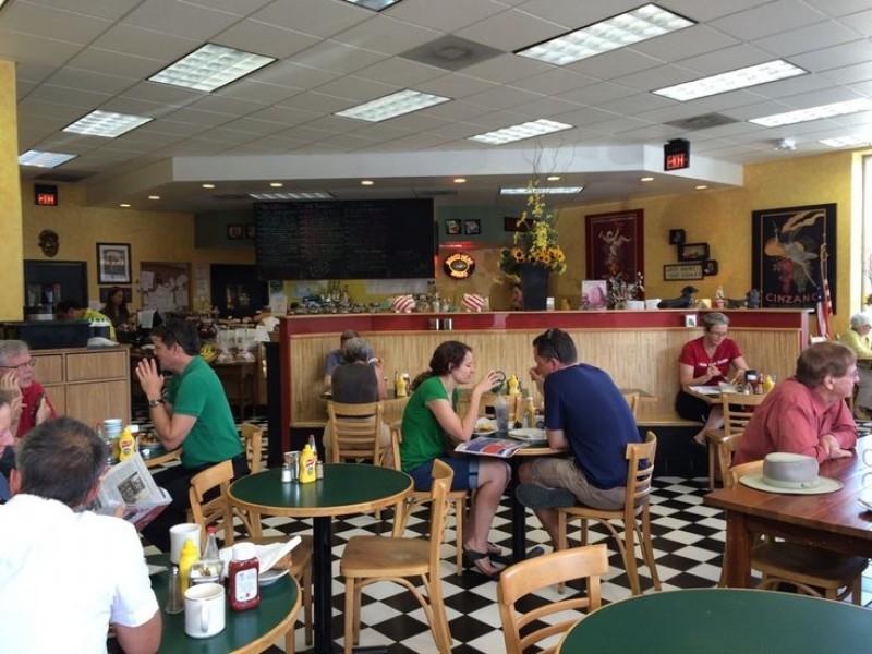 Barbara's Bustling Dining Area