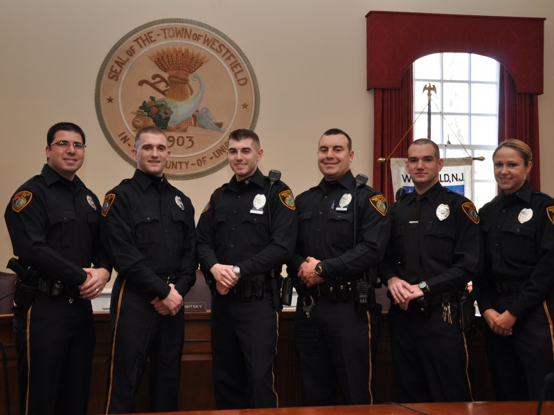 Police Announce New Officers  Westfield NJ Patch