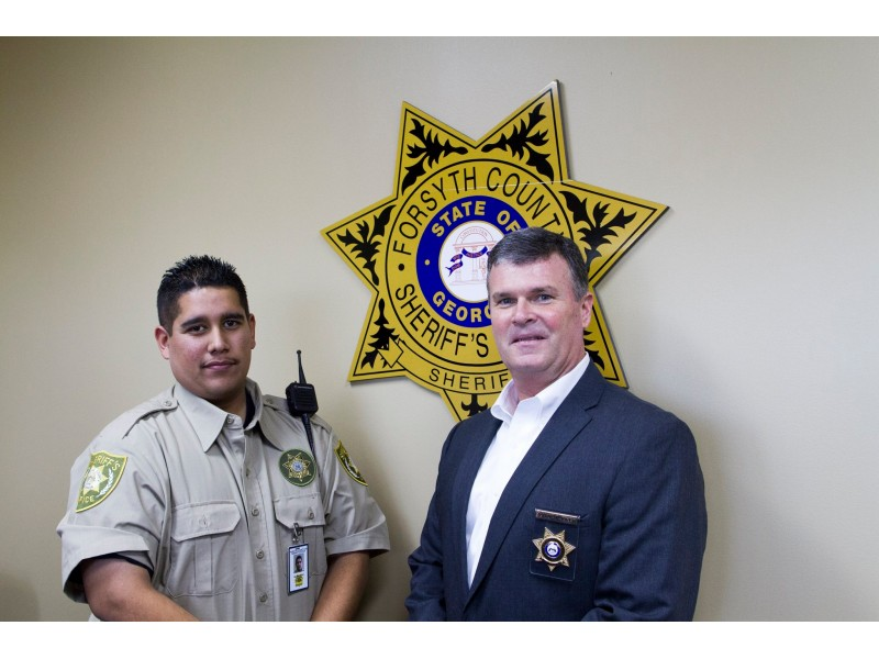 Forsyth Sheriffs Explorer Becomes Sworn Deputy  Cumming