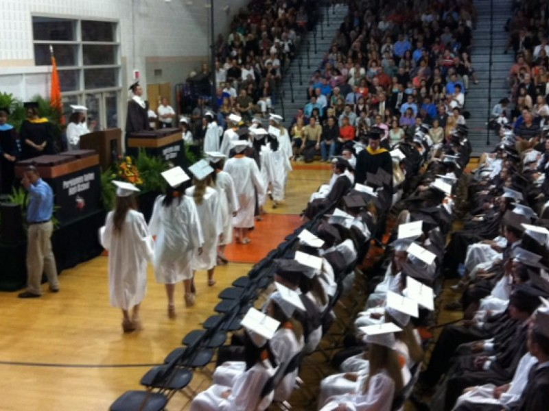 Perk Valley Doesnt Let Rain Dampen Graduation Day  Perkiomen Valley PA Patch