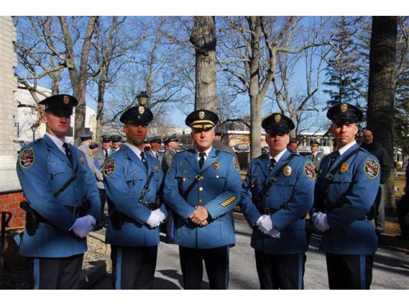 Brick Police Officers Graduate Police Academy  Brick NJ Patch