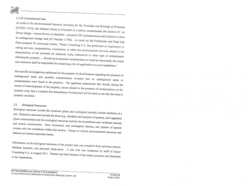Letter: Avalon Bay Misrepresents Hospital Site