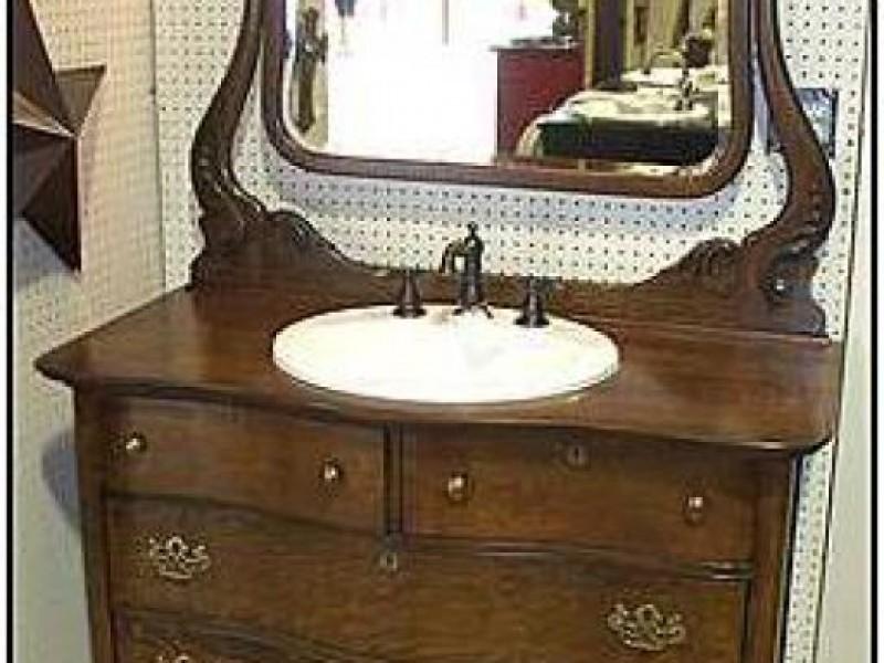 Challenges Of Using An Antique Bathroom Vanity Grosse