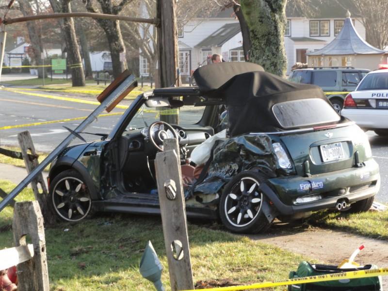 UPDATE Former CBS Newsman Killed in Crash  East Hampton