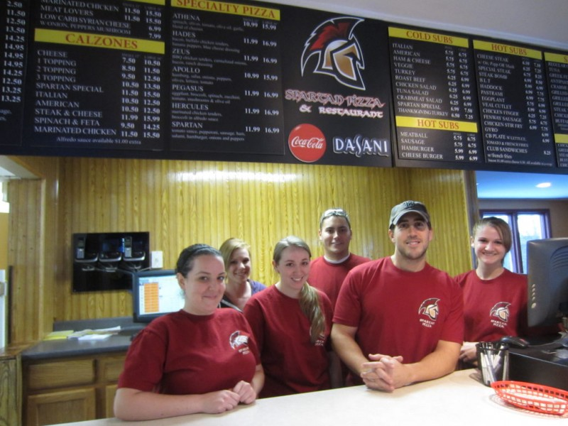 Spartan Pizza and Restaurant Ready for Battle  Merrimack