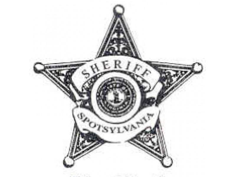 Spotsylvania County Sheriff's Office Arrest Blotter