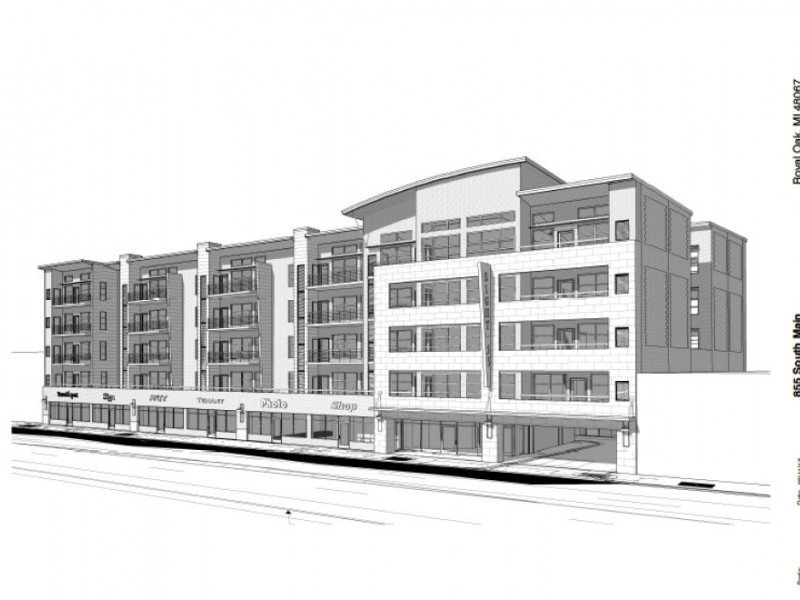 5-Story Development Approved, Shopping Center on Hold