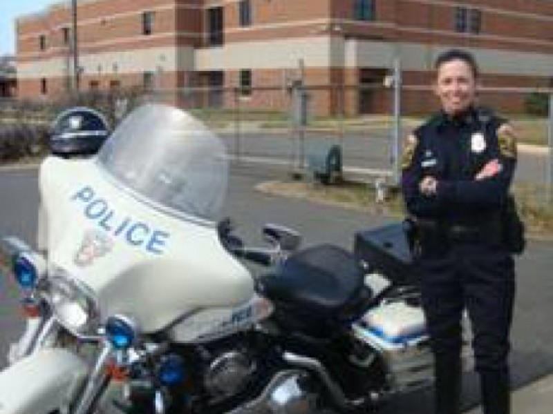 Police Motor Squad Sees First Female Officer | Manassas. VA Patch