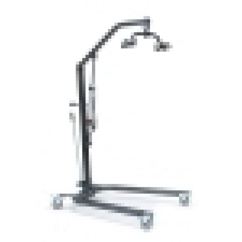 Lumex Patient Hydraulic Lift, ,Black/Silver Vein