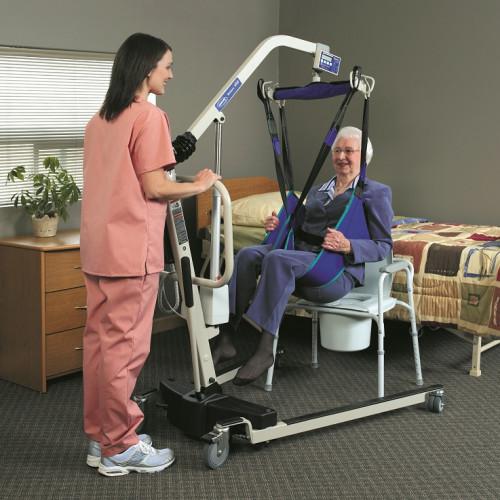 Invacare Reliant Plus 450 Patient Lift with Low Base