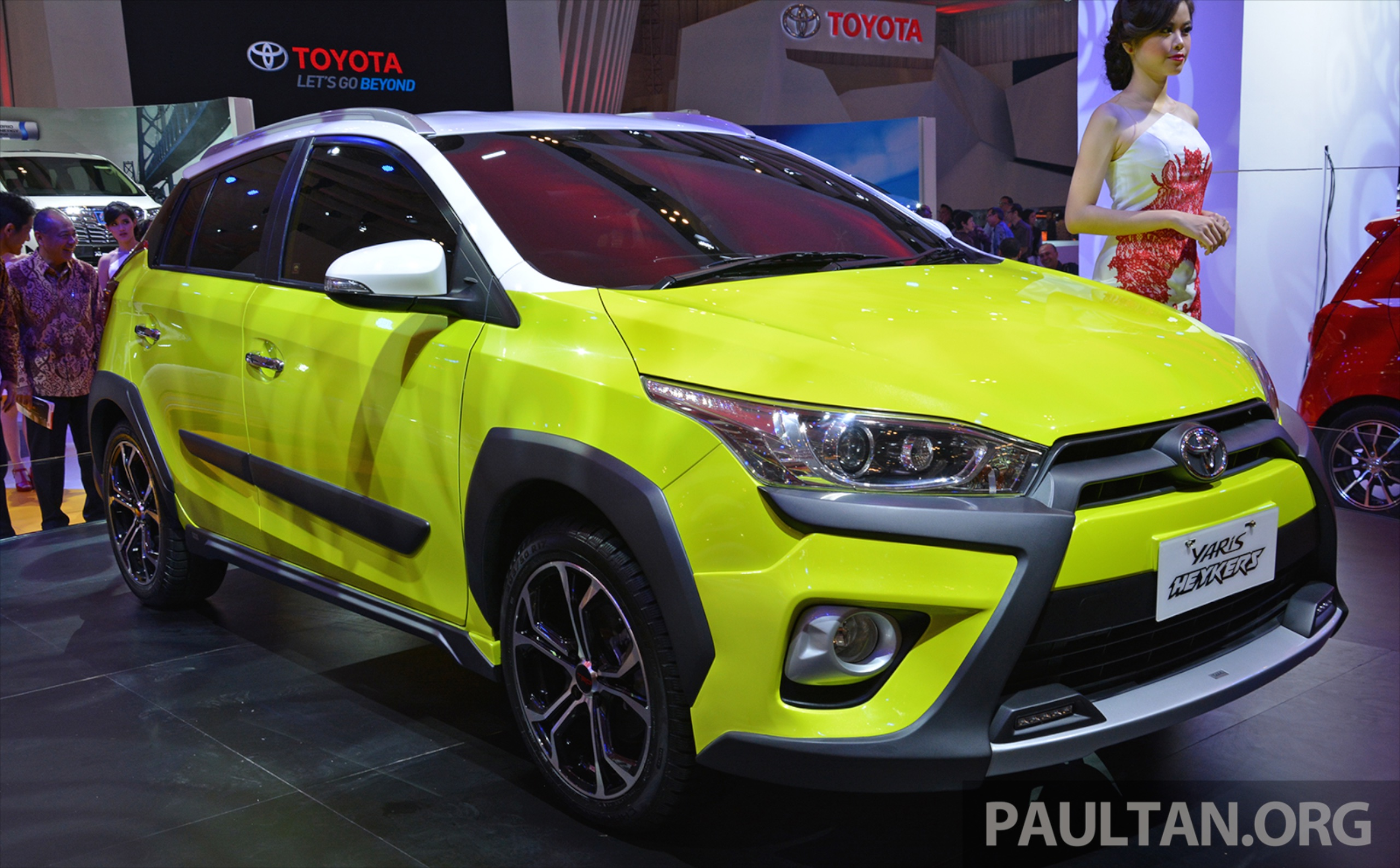 toyota yaris trd heykers grand new avanza vs mobilio giias 2015 concept suv looks