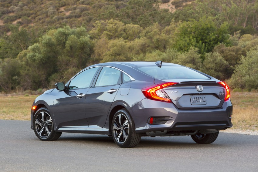 2016 Honda Civic – full technical details on the 10th gen sedan, which benchmarks the 3 Series, C-Class Image #393996