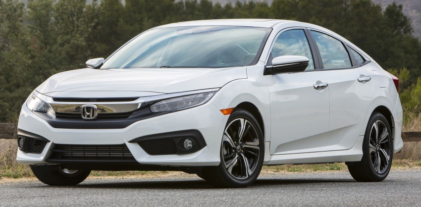 2016 Honda Civic – full technical details on the 10th gen sedan, which benchmarks the 3 Series, C-Class Image #394147