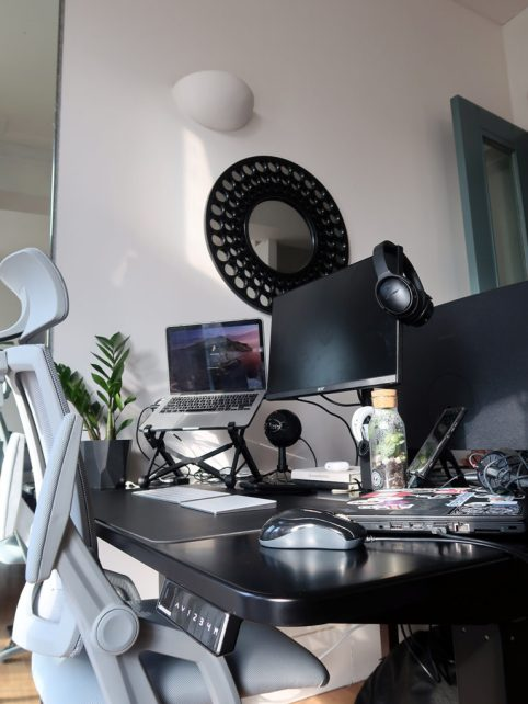 My home office set-up