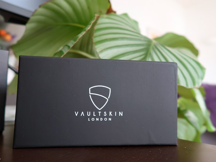 Vaultskin London packaging - as high quality as their products!