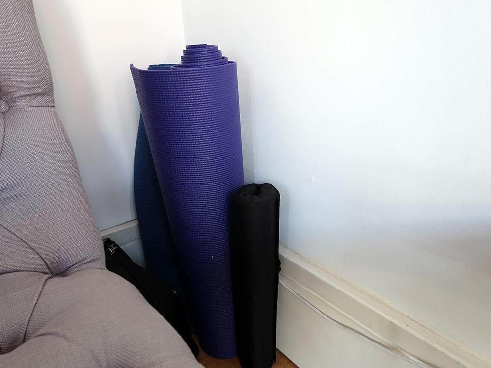 Yoga mats!