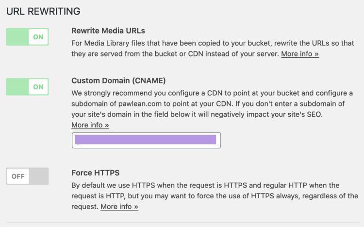 Offload Media Lite - Settings