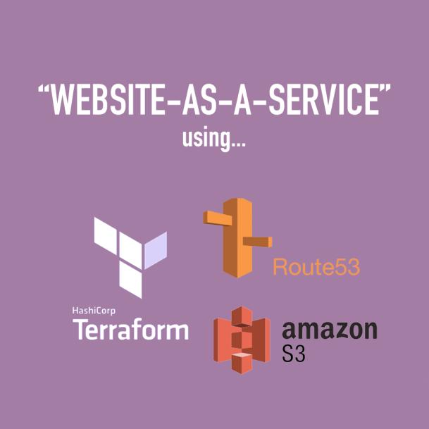 Website as a service
