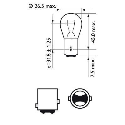 žiarovka pre smerové svetlo PHILIPS VisionPlus 12499VPB2