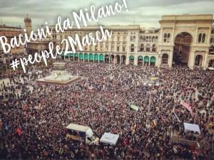 La risposta di Milano al razzismo