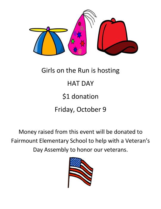 hat day fundraiser school