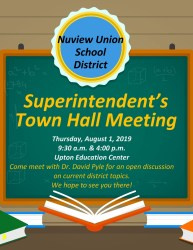 Town Hall Meeting Flyer 5