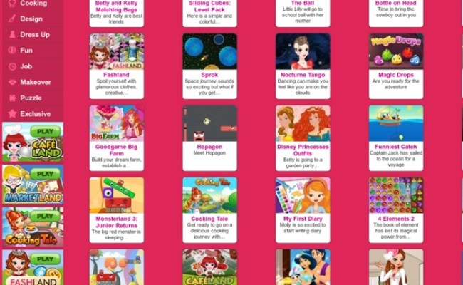 Games For Girls Games2girls Pearltrees