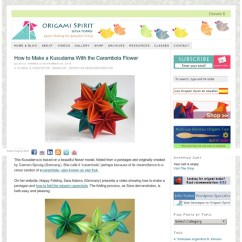 Carambola Flower Origami Diagram What Is The Orbital Video On How To Make A Kusudama With By Carmen Sprung