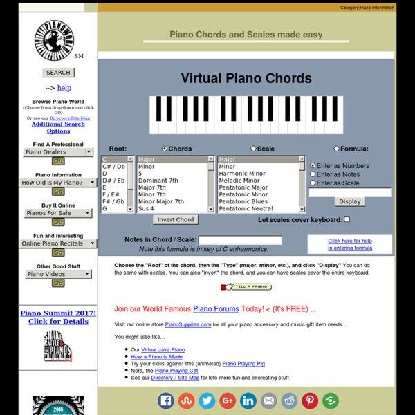 Carry On Fun Chords Piano