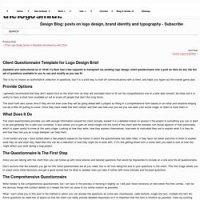 Branding design brief | Pearltrees