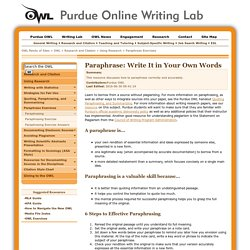 Writing Quality | Pearltrees
