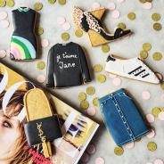 Decorated Shoes Biscuits