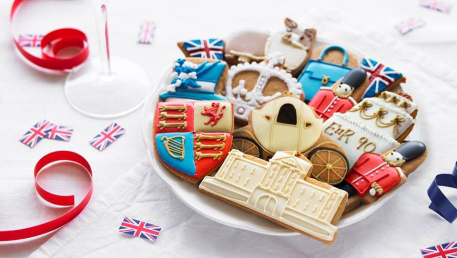 Decorated English Biscuits