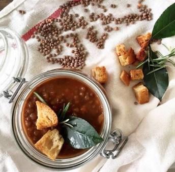 Mariacarota zuppa di lenticchie