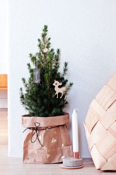 mini albero da scrivania