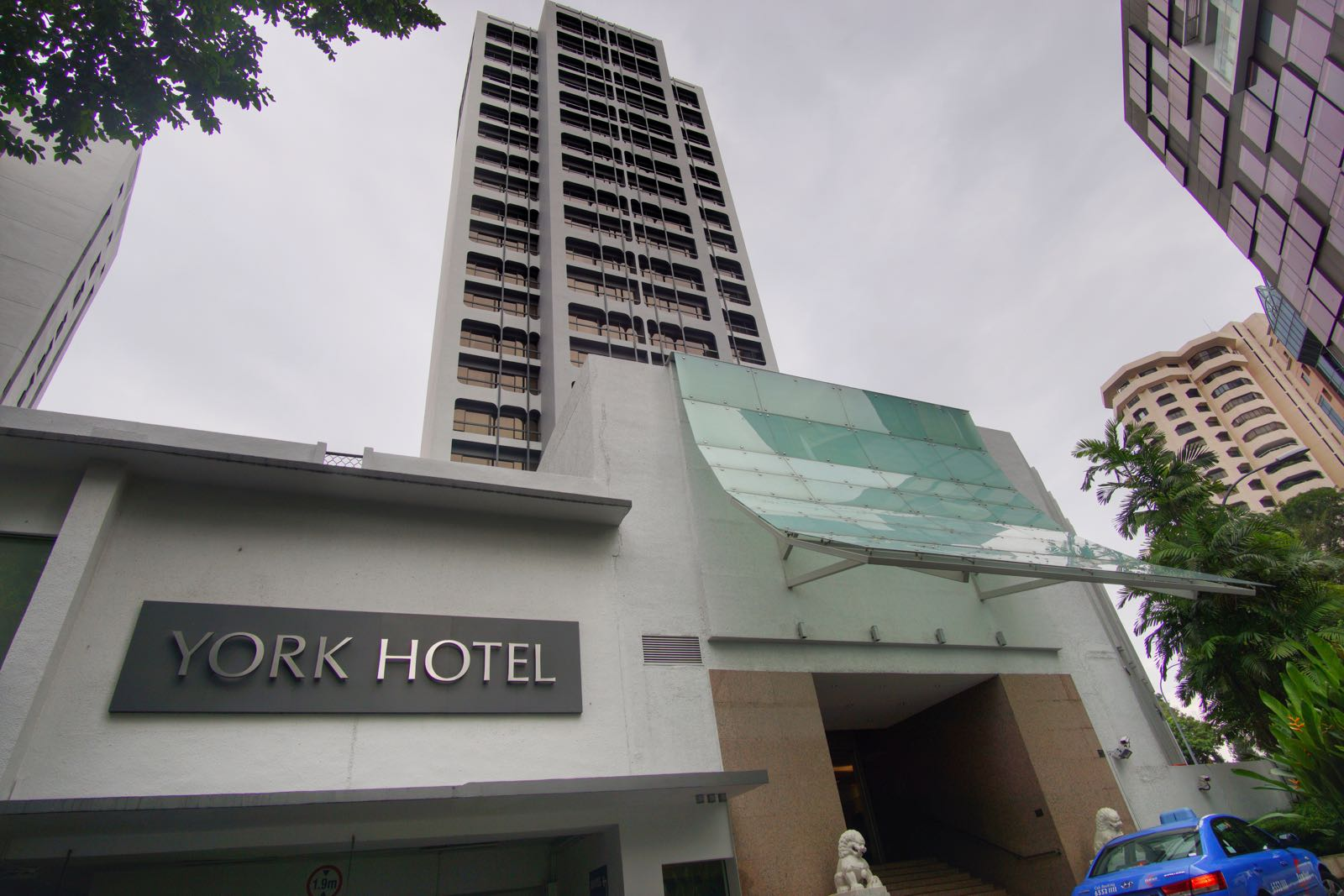York Hotel Orchard Singapore Lokasinya Sangat Strategis