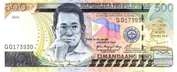 Did You Know: The 500 Peso Note in the Philippines Features a Rolleiflex TLR 500pesofront