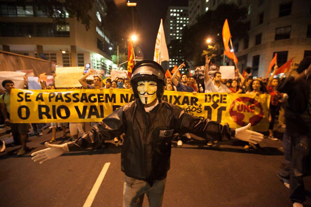 A First Person View de fotografiar las protestas en Brasil brazilprotests 1