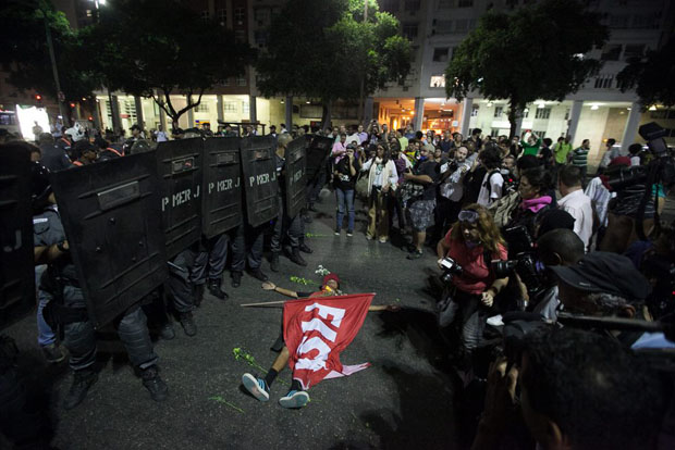 A First Person View de fotografiar las protestas en Brasil brazilprotests 4