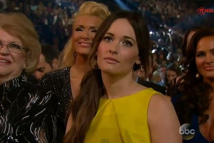 Kacey Musgraves is not amused.