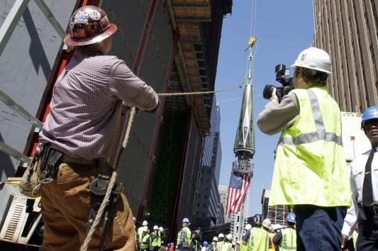 Nail guns hospitalize more construction workers than any other injury. UPI/John Angelillo