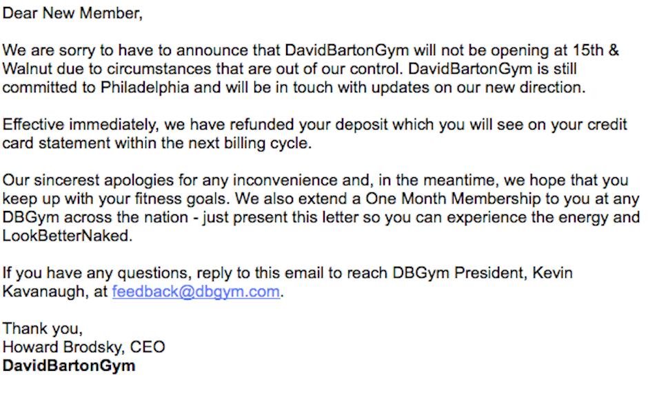 La Fitness Cancellation Letter | Gym ZEN